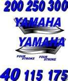 Photos of Outboard Motor Decals